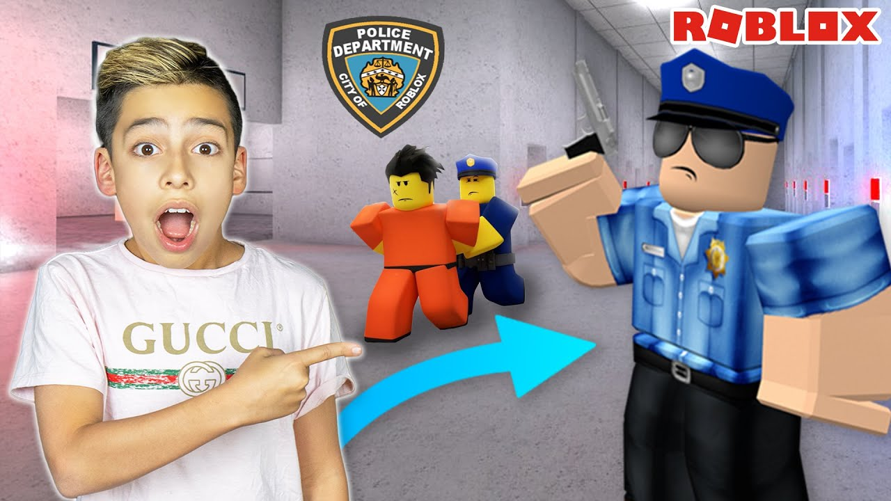 I Became a POLICE OFFICER in ROBLOX! | Royalty Gaming