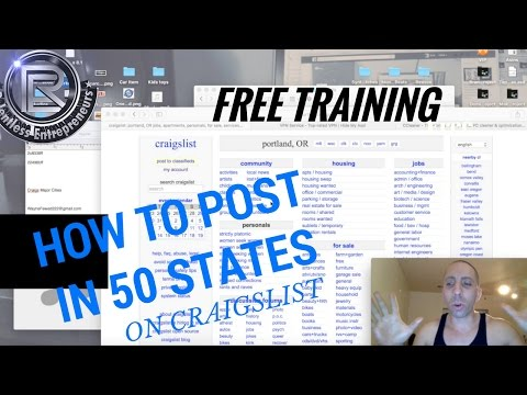 Craigslist Advertising Strategies How To Post Ads On Craigslist In Multiple Cities 50 states