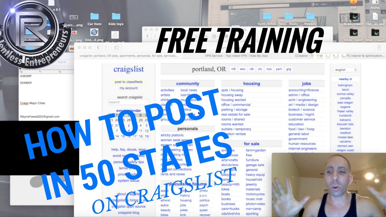 Craigslist Advertising Strategies How To Post Ads On ...