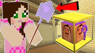 Minecraft: HELLO NEIGHBOR LUCKY BLOCK! (SHOVEL, WRENCH, & MORE!) Mod Showcase