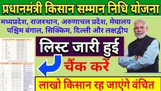PM किसान सम्मान निधि योजना लिस्ट लाखों किसानों को नही मिलेगा PM kisan nidhi yojana का लाभ #pmkisan