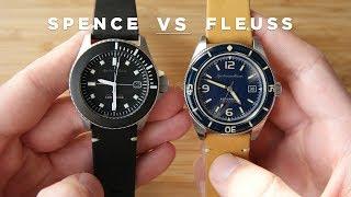 Spinnaker Fleuss vs Spinnaker Spence   The Best Diving Watches Under $300?