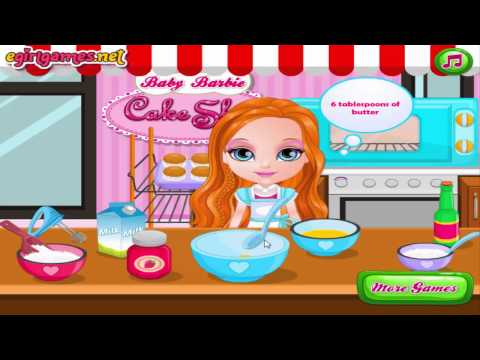 Barbie Cooking Games For Girls Youtube