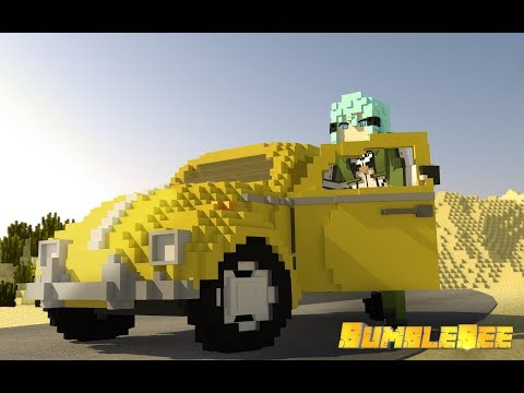「bumblebee-official-trailer」english-minecraft-animation|-【dreamer-animations】