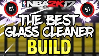 NBA 2K17 BEST GLASS CLEANER BUILD FOR MYPARK