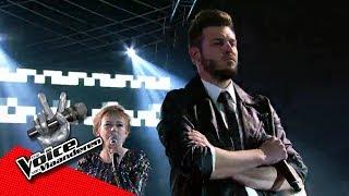 Bert en Kalina zingen 'Call Me'   The Battles   The Voice van Vlaanderen   VTM