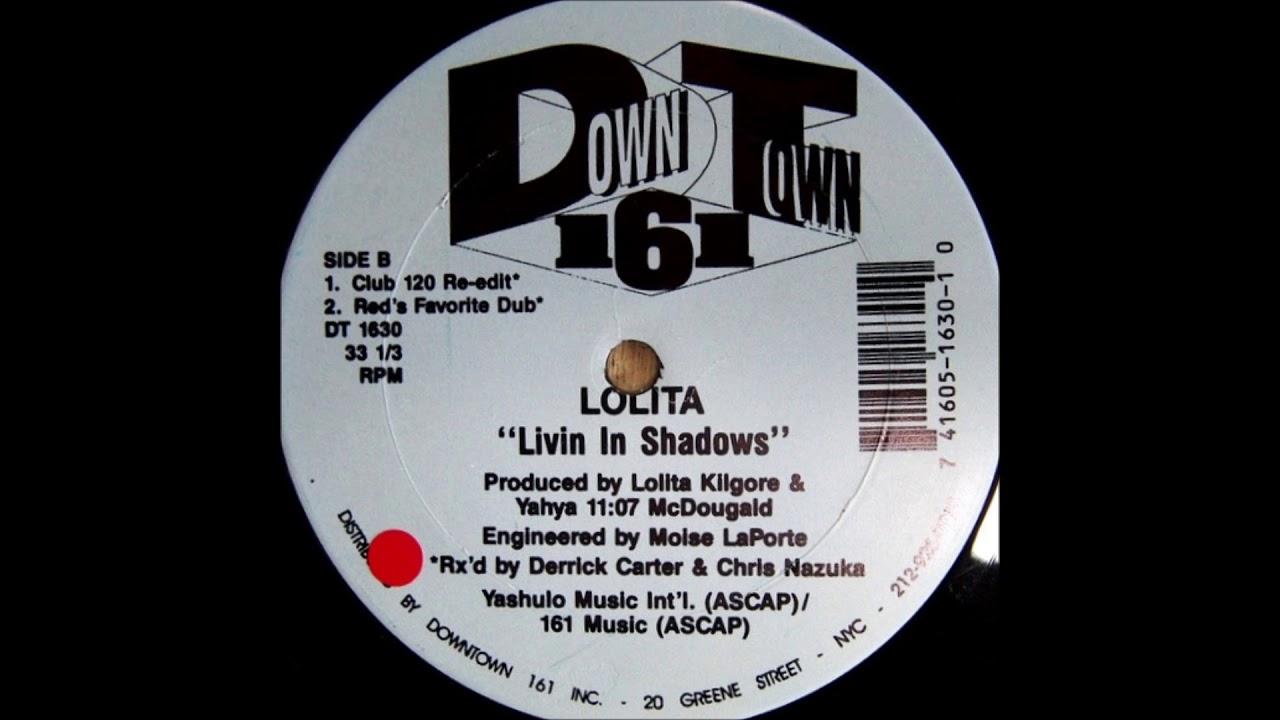 LIVIN IN SHADOWS [GR1255] - LOLITA - GROOVIN RECORDINGS(ITA
