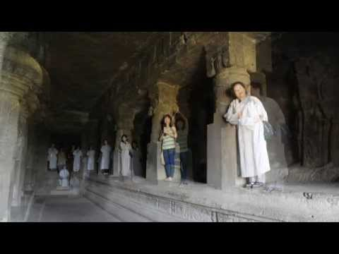 Theravada beautiful chanting at Ellora Caves