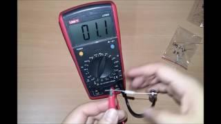UNI-T UT603 LCR Digital Multimeter - Capacitance, Inductance, hFE, Resitance Review
