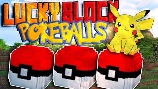 Descargar Lucky Block POKEBALL Mod para Minecraft - REVIEW