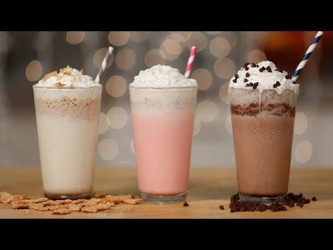 Make 3 Frappuccinos From Starbucks' Secret Menu | Eat the Trend thumbnail