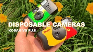 Kodak Vs Fuji Disposable Camera Challenge