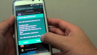 Samsung Galaxy S5: How to Reset All Apps Preferences Mp3