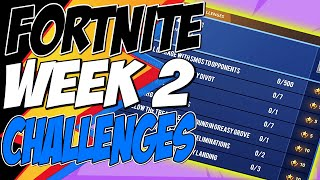 Fortnite CHALLENGES WEEK 2 SEASON 8 LEAKED - Dégâts avec un canon pirate