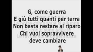Ligabue - G come Giungla TESTO (Official Video-Text)