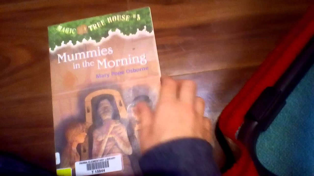 Magic Treehouse 3 Part - 29: Magic Tree House Book# 3: Mummies In The Morning - YouTube