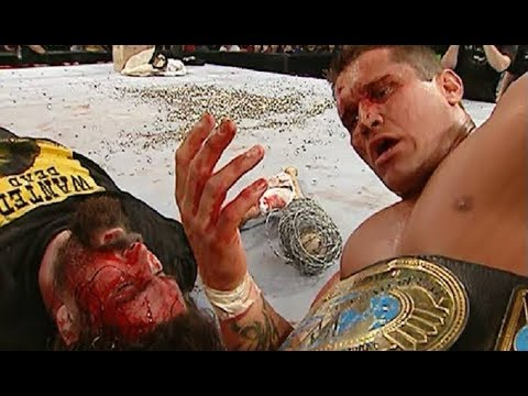 Randy Orton vs Mick Foley Backlash 2004 (A Bloody Match)