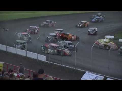 Red River Valley Speedway 06/24/2016 - IMCA Sport Mods Feature