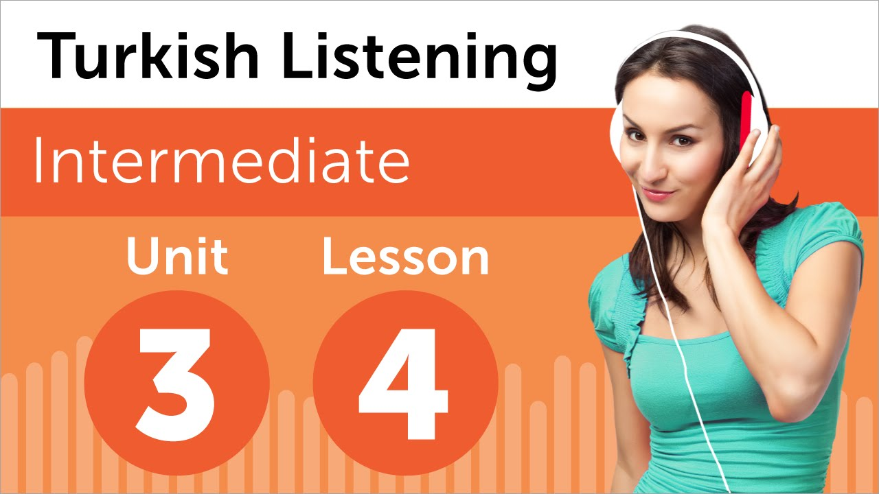 Turkish Listening Practice - Talking About a Person in Turkish