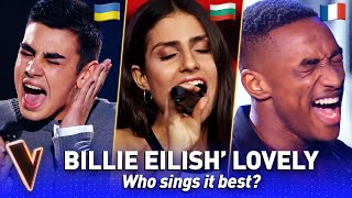 Who sings LOVELY by Billie Eilish & Khalid best in The Voice?