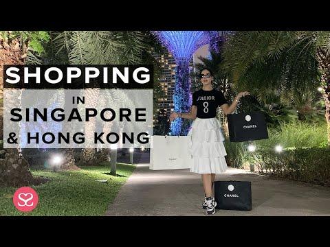 SHOPPING in SINGAPORE & HONG KONG! | Luxury Travel Vlog