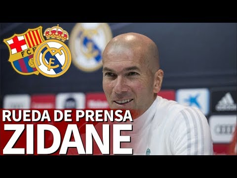 Barcelona - Real Madrid | Rueda de prensa de Zidane previa al Clásico | Diario AS