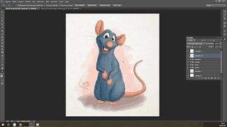 Desenhando e Pintando: Remi (Ratatouille)
