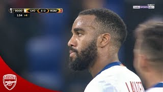 The Match That Made Arsenal Buy Alexandre Lacazette