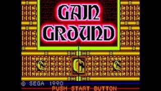Gain Ground Walkthrough