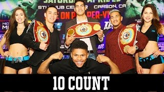 Top Rank pay-per-view on April 22 - 10 Count