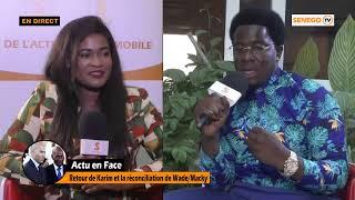 🔴Direct L'actu en face : Retour de Karim et la réconciliation de Wade/Macky
