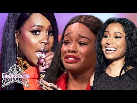Remy Ma and Azealia Banks DISS each other! | Nicki Minaj laughs
