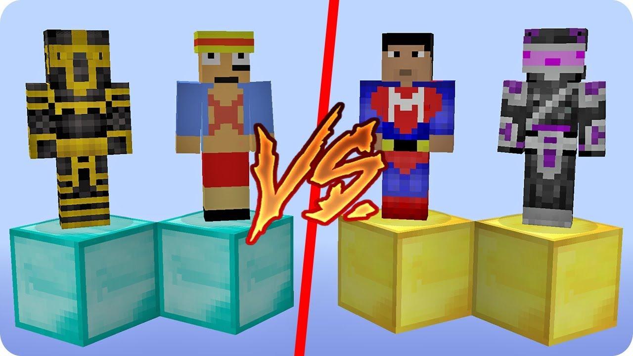Cual Es El Mejor Equipo En Minecraft Youtube
