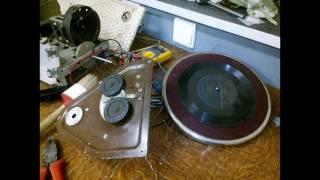Урал-57 радиола - восстановление