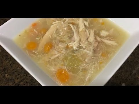 Easy And Delicious  Instant Pot Chicken Rice Soup