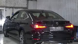 Тюнинг выхлопной системы Lexus GS350 2018 года