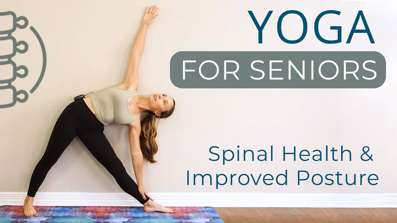 Beginners Yoga for Seniors | Improve your Spinal Health & Posture with Tessa