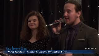 Swingové vianoce, koncert GOLD Orchestra