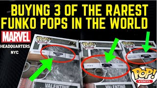 BUYING 3 OF THE RAREST FUNKO POPS IN THE WORLD!!!!