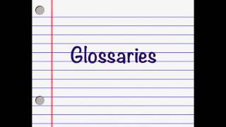 Glossaries Follow-up - An Example of my Glossary and how I use it - (Freelance Translator Tips #42)