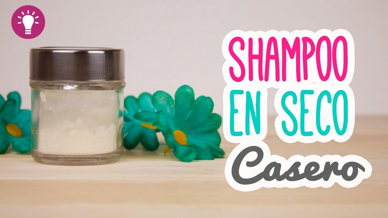 Como hacer un shampoo en seco casero