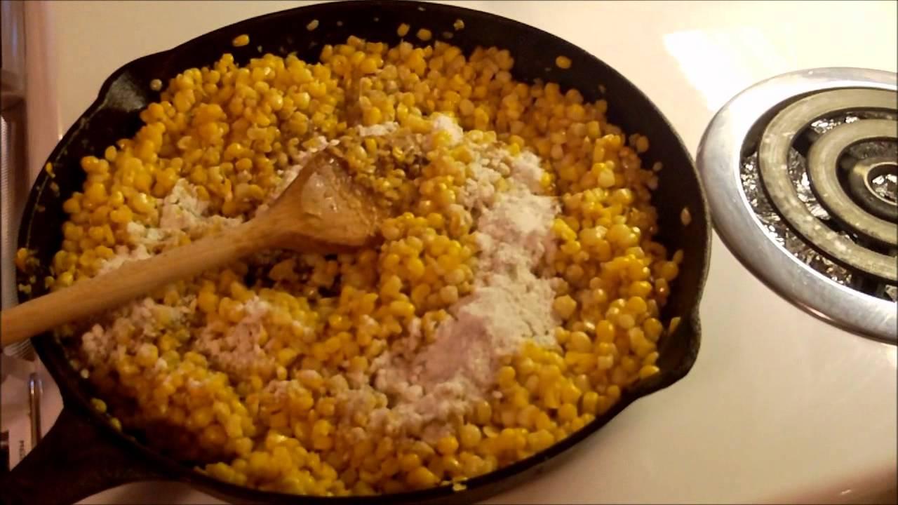 Making pan fried corn youtube ccuart Choice Image