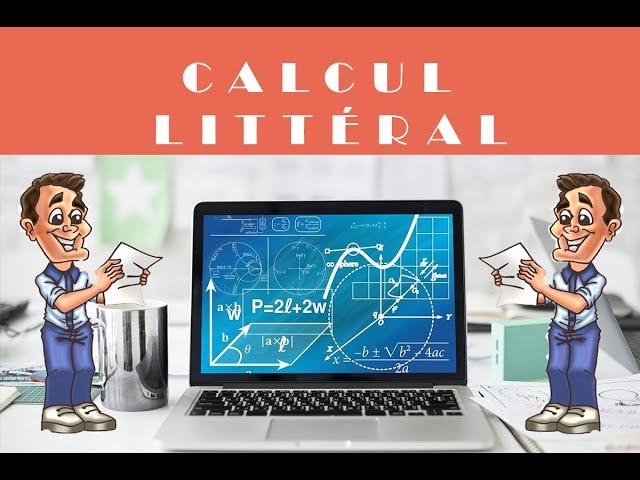 Calcul littéral et équation-produit : exercice de maths corrigé.