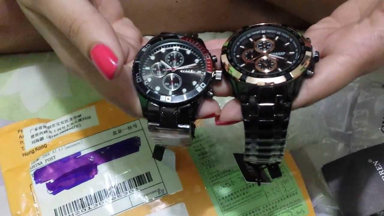 2eeb410b56c Unboxing - Aliexpress Relógios - YouTube