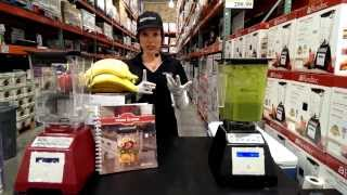 Blendtec Blender Healthy Green Smoothie Recipe (no banana) - Costco Demonstration