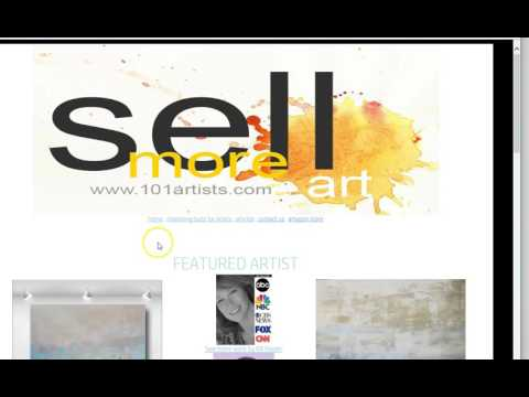 Sell More Art - Online Artist Marketing Publicity PR - Intro to ArtMarketing101