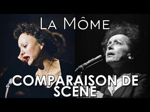 La môme (2007) - comparaison de scène