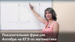 ЕГЭ. Алгебра. Показательная функция