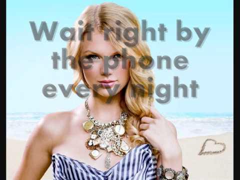 Taylor Swift - I Heart Question Mark [HD] Lyrics On Screen