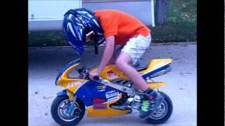 pocket rocket and mini moto day